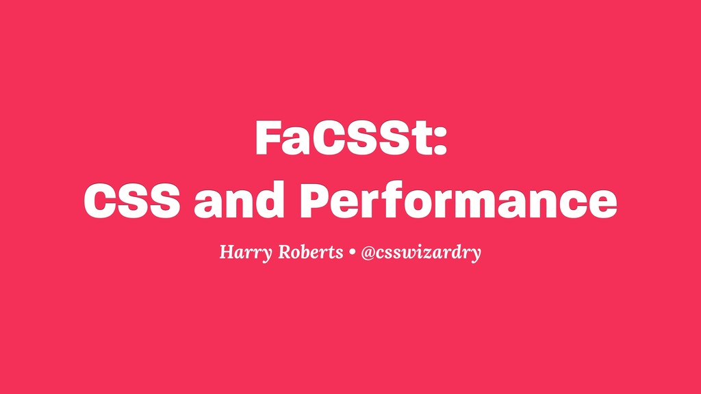 FaCSSt: