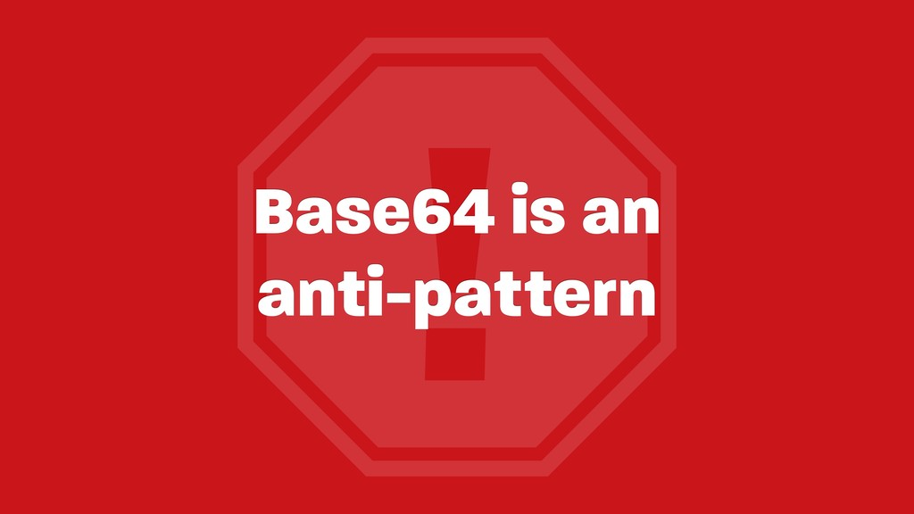 ! Base64 is an