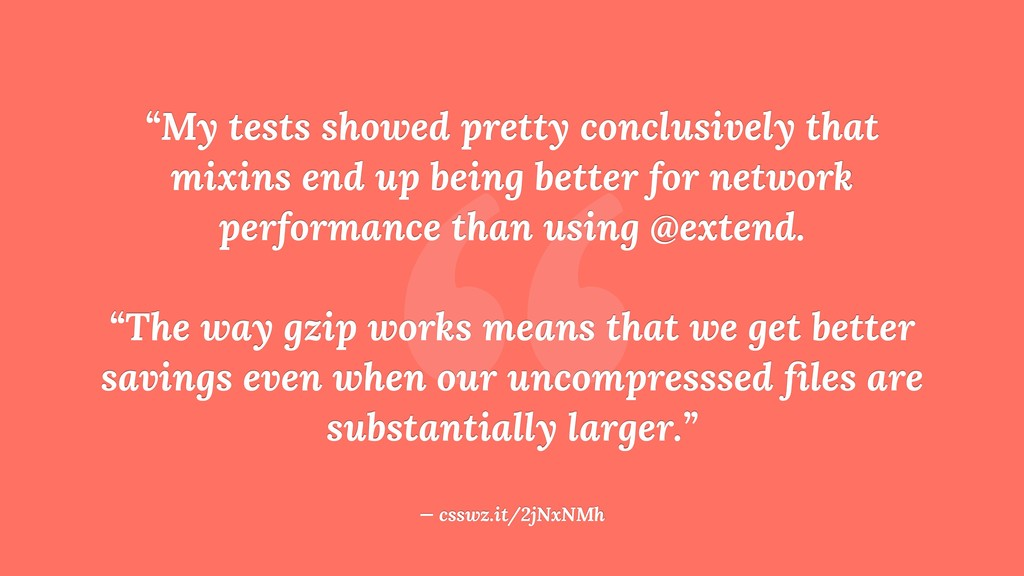 """ ""My tests showed pretty conclusively that mix..."