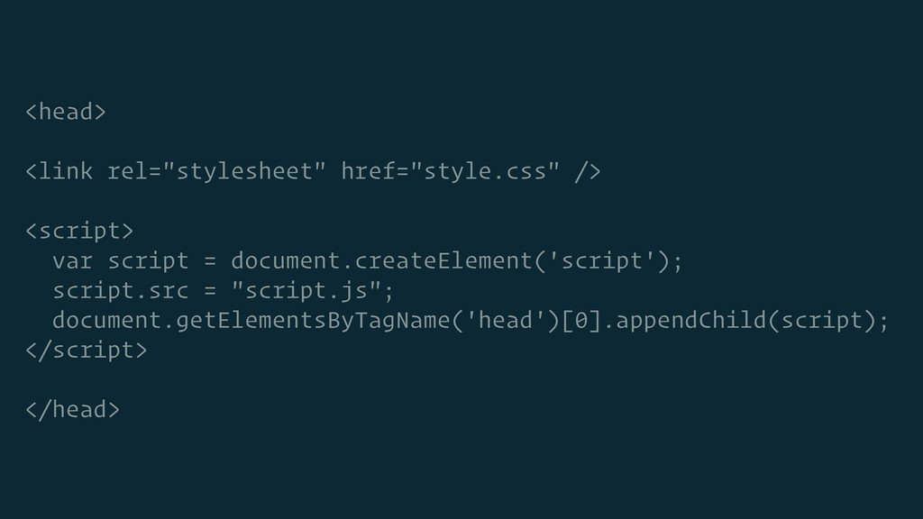 "<head> <link rel=""stylesheet"" href=""style.css"" ..."