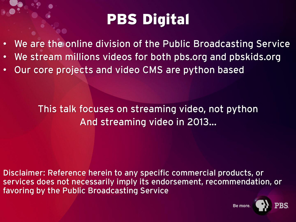 PBS Digital • We are the online division of the...