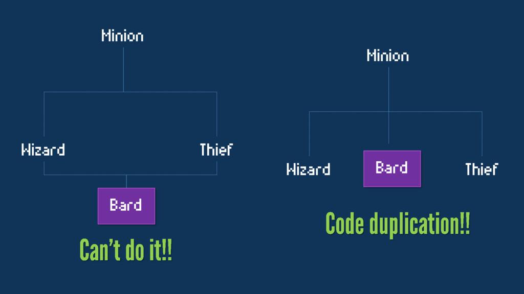 Minion Wizard Thief Bard Minion Wizard Thief Ba...