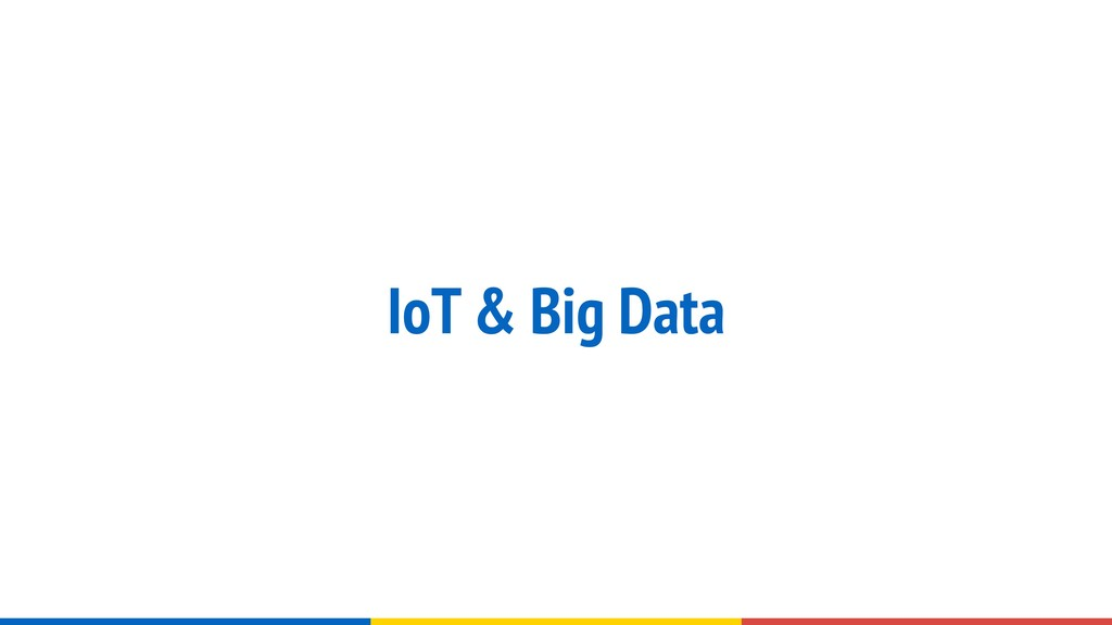 IoT & Big Data