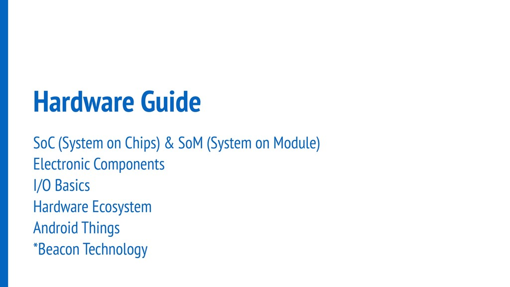 Hardware Guide SoC (System on Chips) & SoM (Sys...