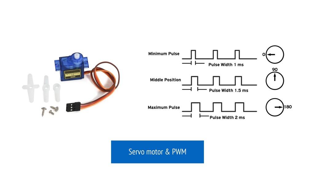 Servo motor & PWM
