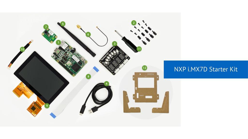 NXP i.MX7D Starter Kit