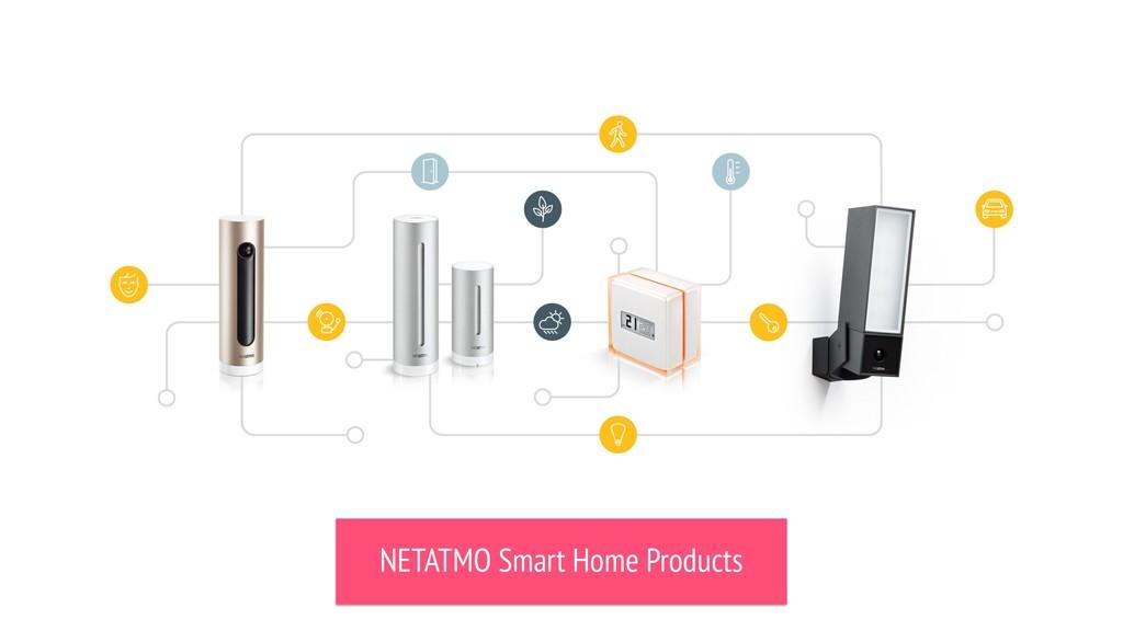 NETATMO Smart Home Products