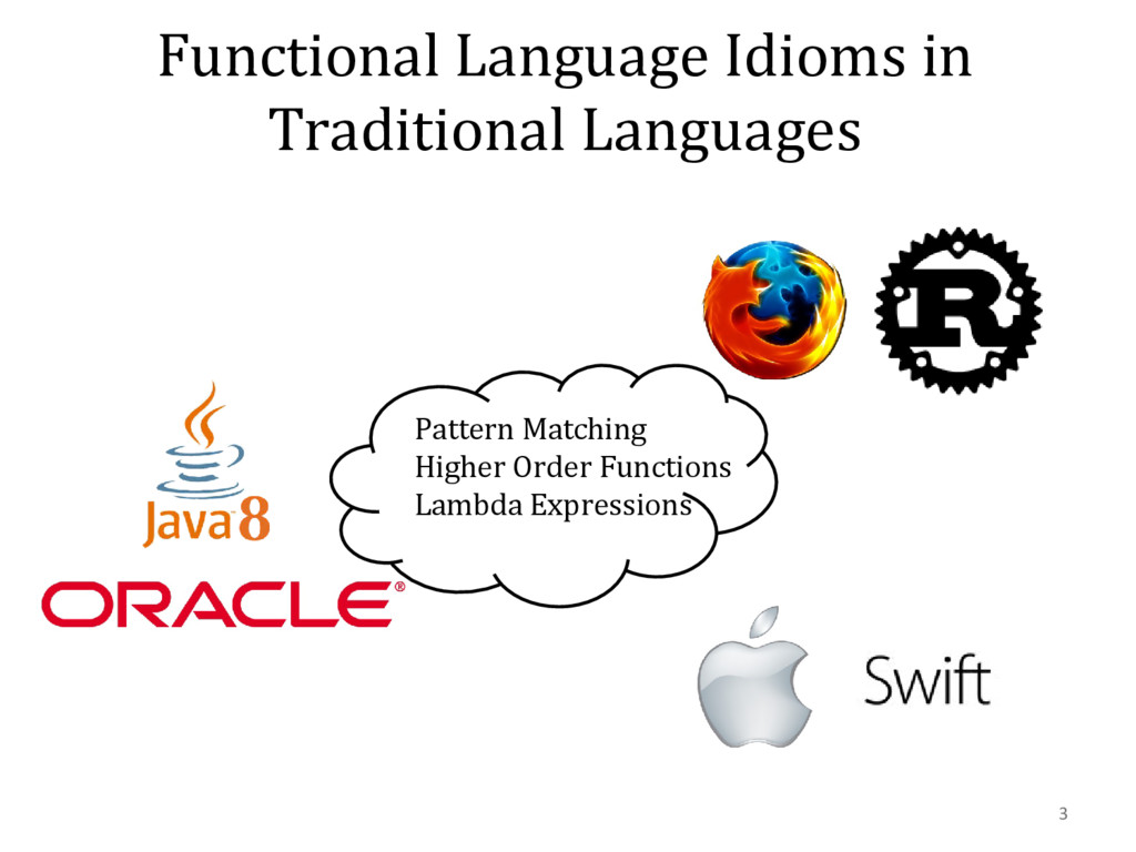 Functional Language Idioms in Traditional Langu...