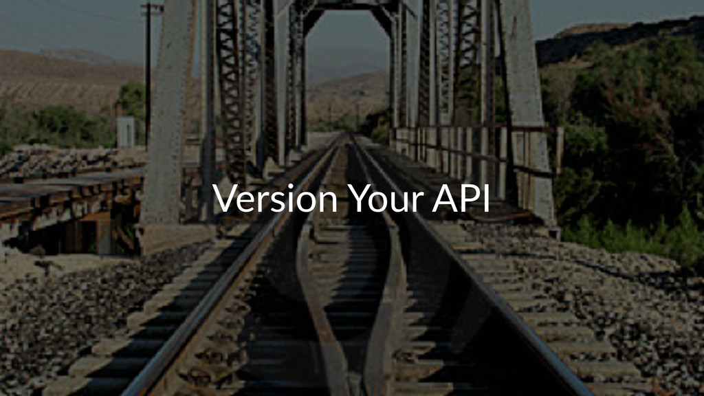 Version(Your(API