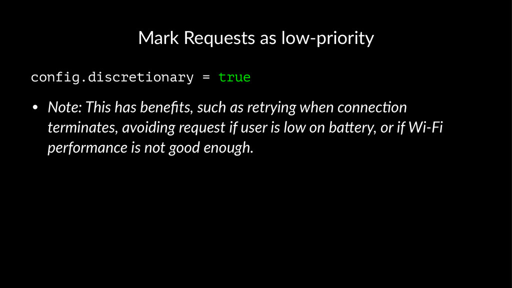 Mark%Requests%as%low/priority config.discretion...