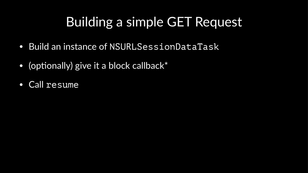 Building(a(simple(GET(Request • Build'an'instan...