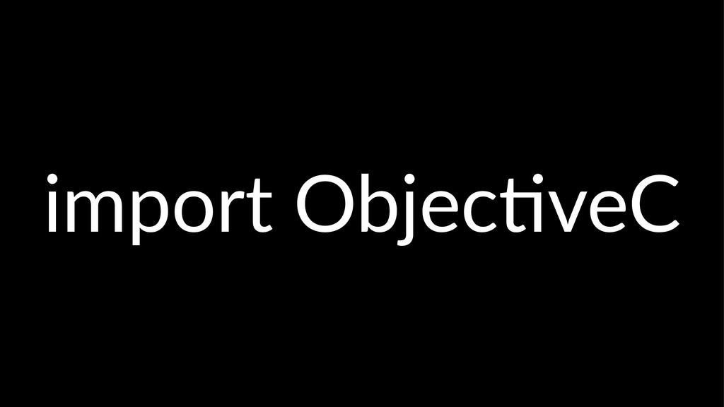 import'Objec-veC
