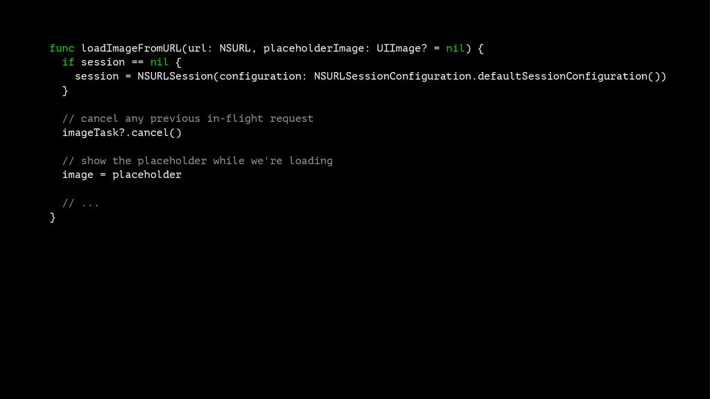 func loadImageFromURL(url: NSURL, placeholderIm...