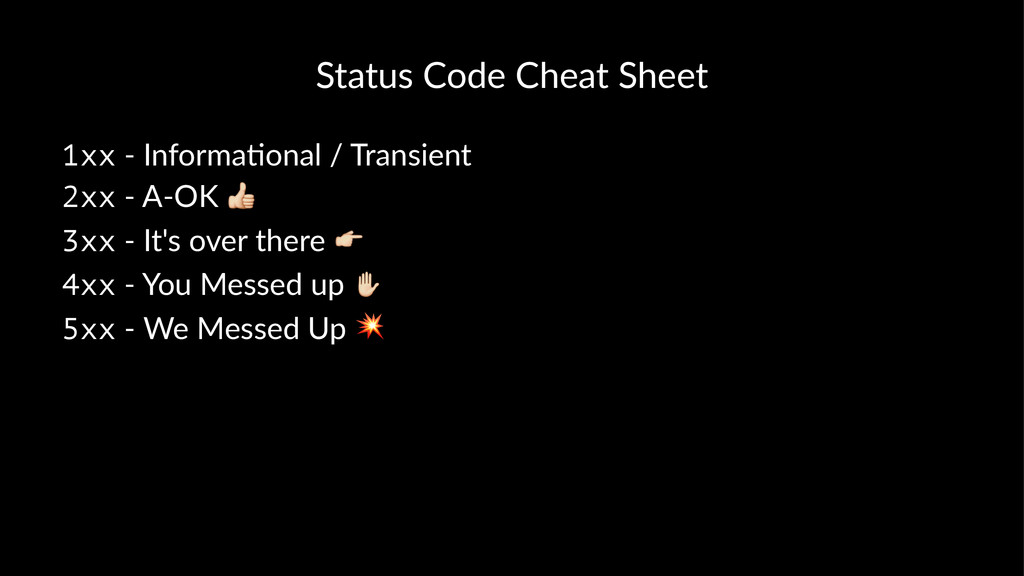"Status&Code&Cheat&Sheet 1xx!""!Informa*onal!/!Tr..."