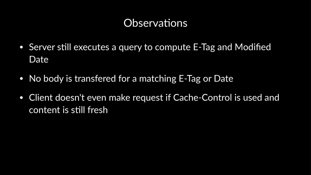 Observa(ons • Server&s(ll&executes&a&query&to&c...