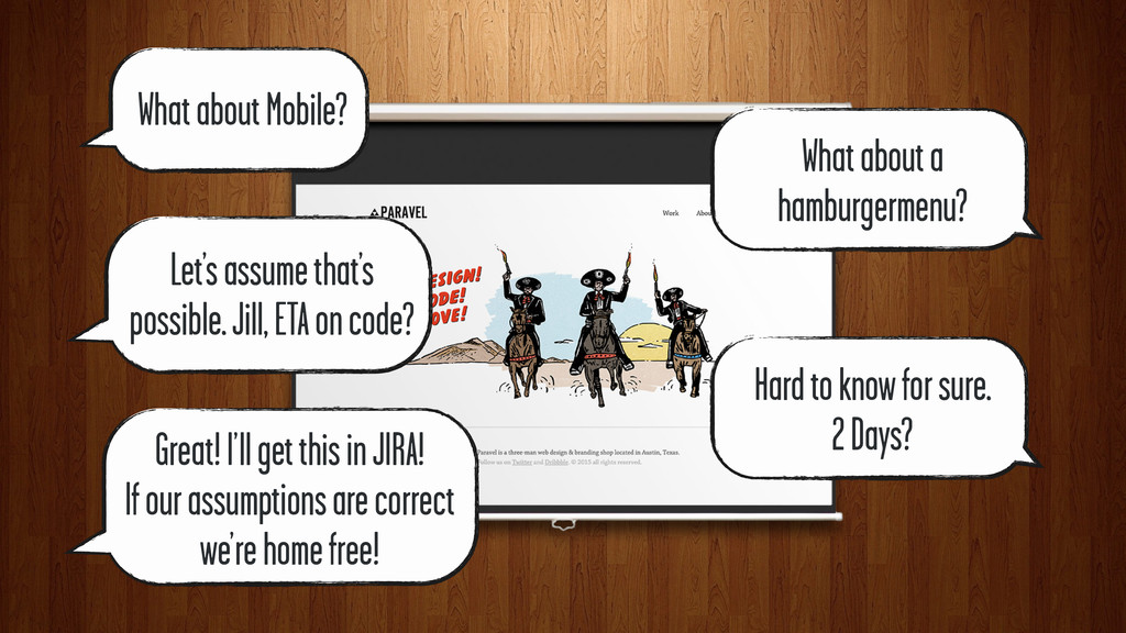 What about Mobile? What about a hamburgermenu? ...