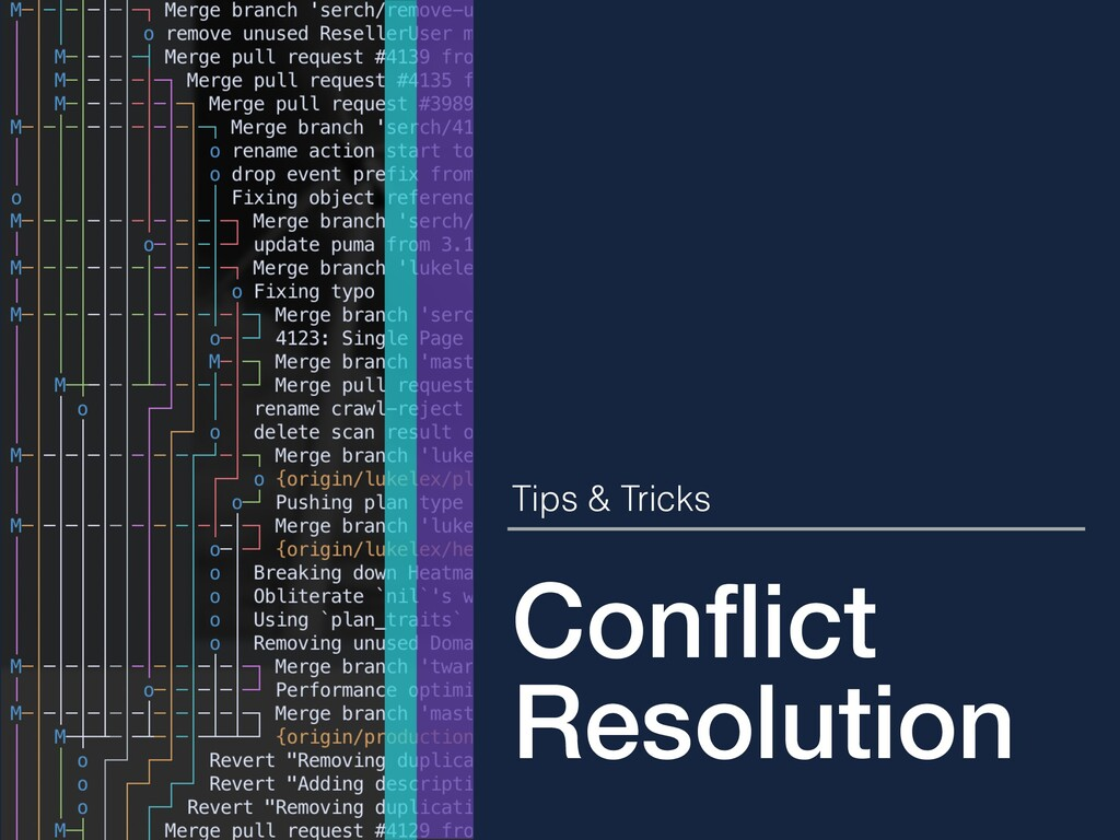 Conflict Resolution Tips & Tricks