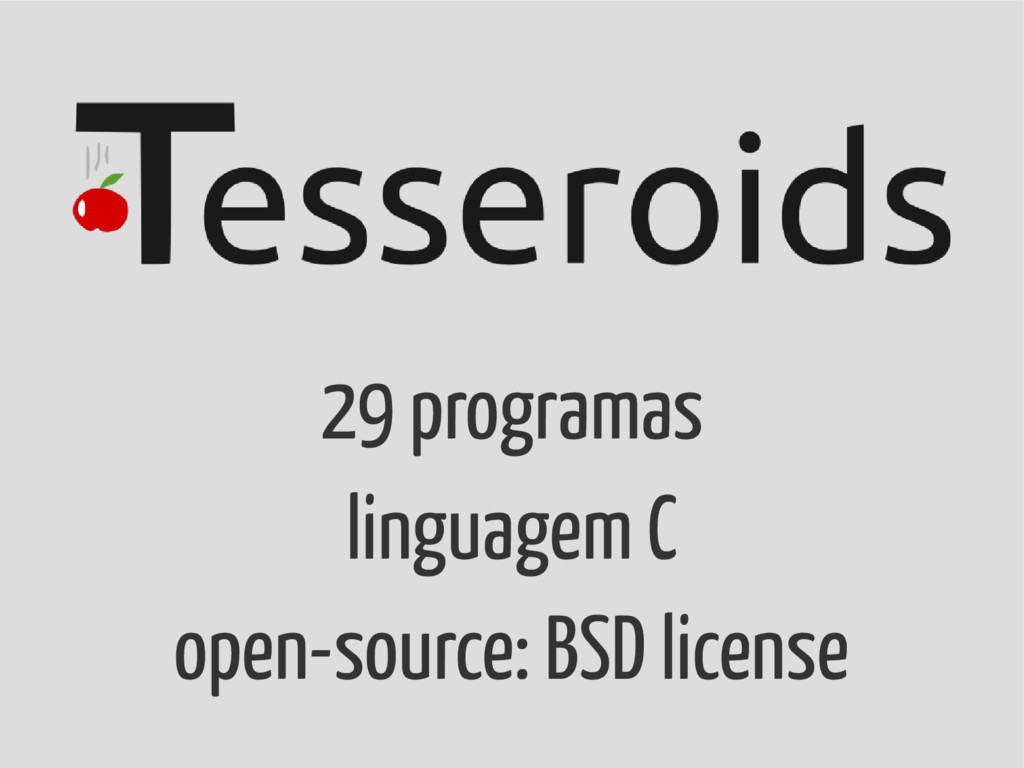 29 programas linguagem C open-source: BSD licen...