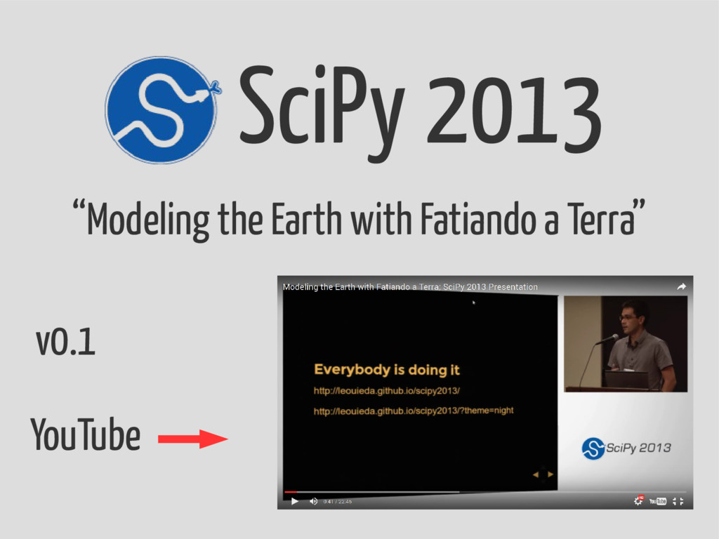"""SciPy 2013 """"Modeling the Earth with Fatiando a ..."""