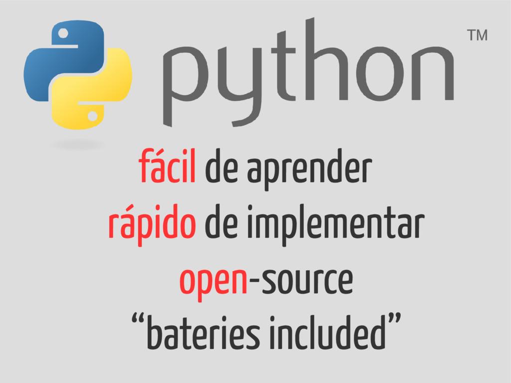 fácil de aprender rápido de implementar open-so...