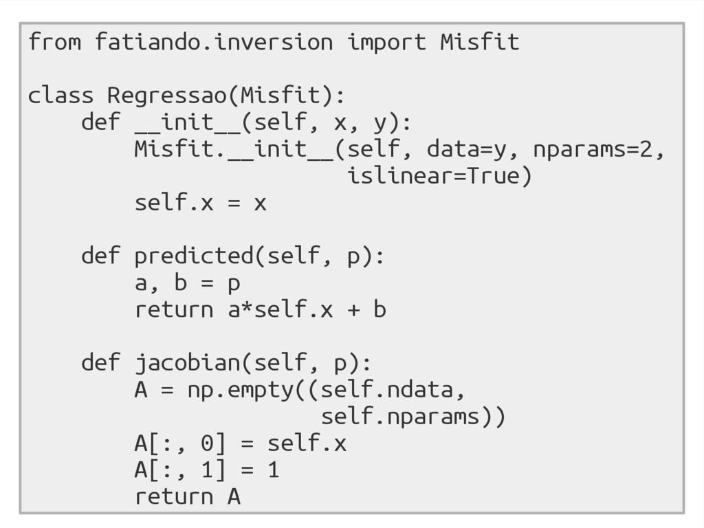 from fatiando.inversion import Misfit class Reg...