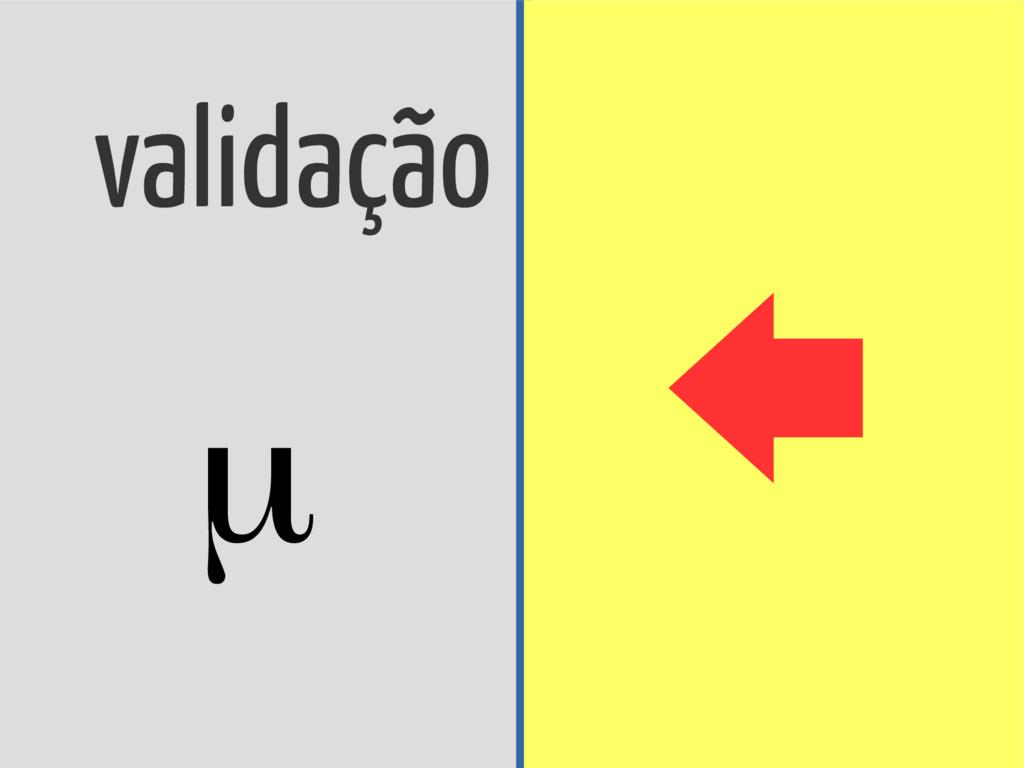 validação cruzada μ h ref Δρ