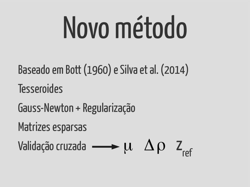Baseado em Bott (1960) e Silva et al. (2014) Te...