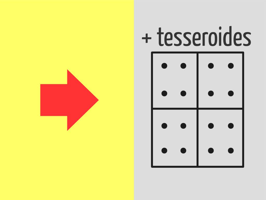 + massas + tesseroides