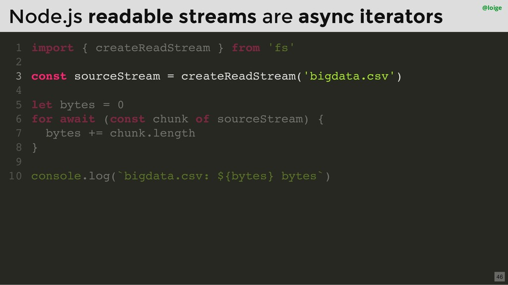 import { createReadStream } from 'fs' const sou...