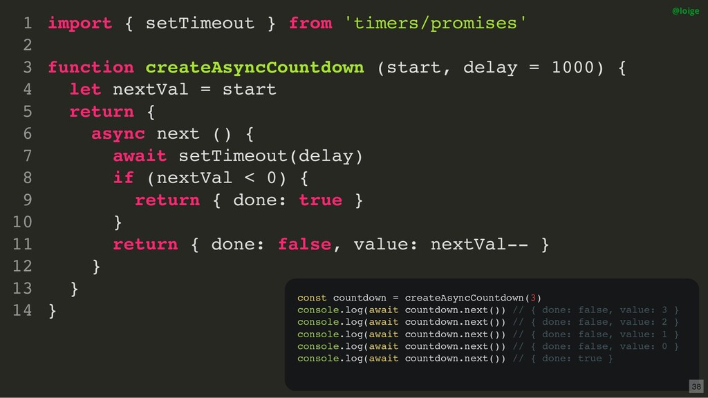 import { setTimeout } from 'timers/promises' fu...