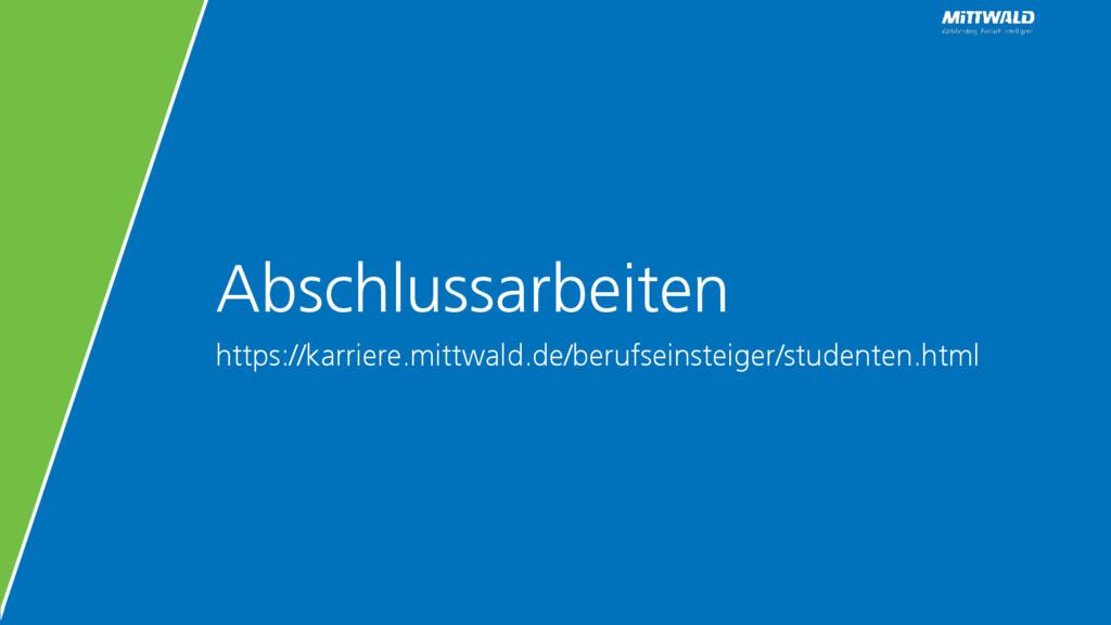Abschlussarbeiten https://karriere.mittwald.de/...