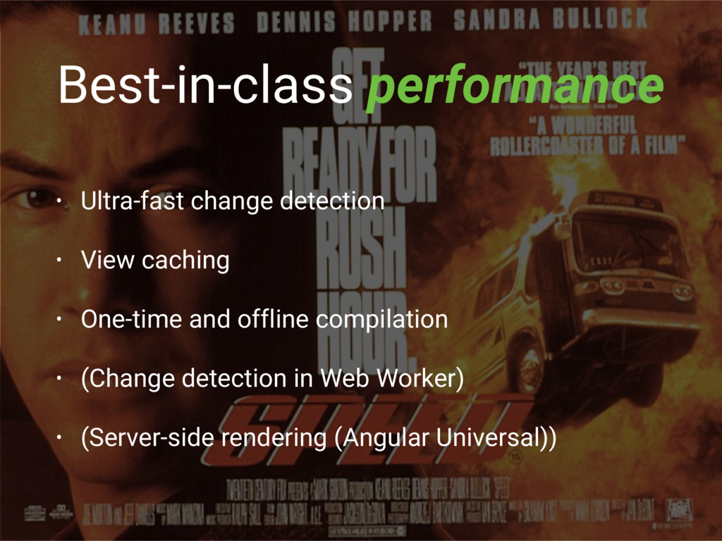 Best-in-class performance • Ultra-fast change d...