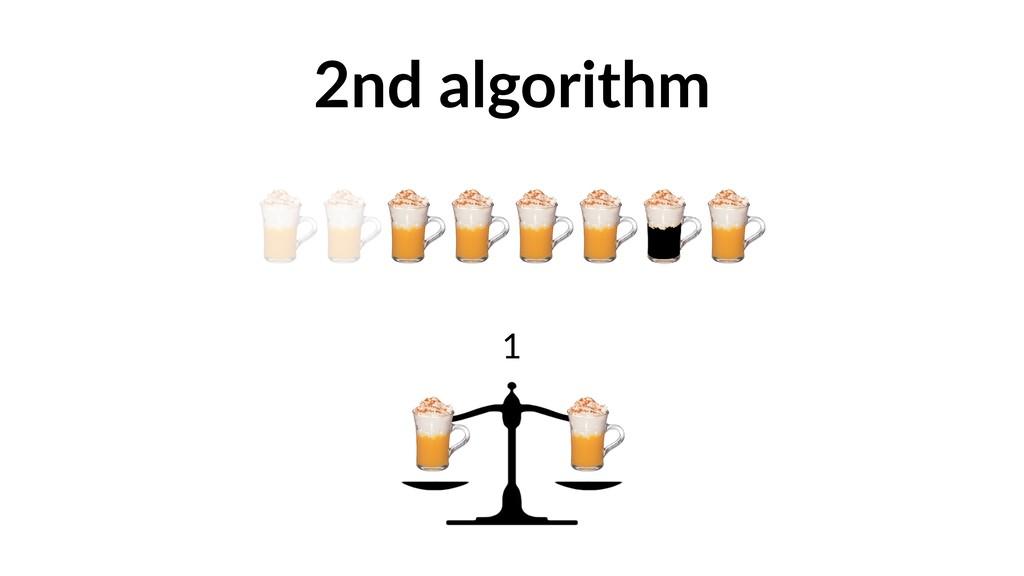 2nd algorithm 1