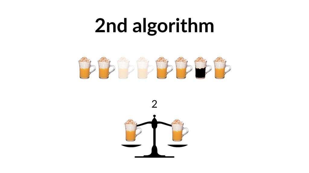 2nd algorithm 2