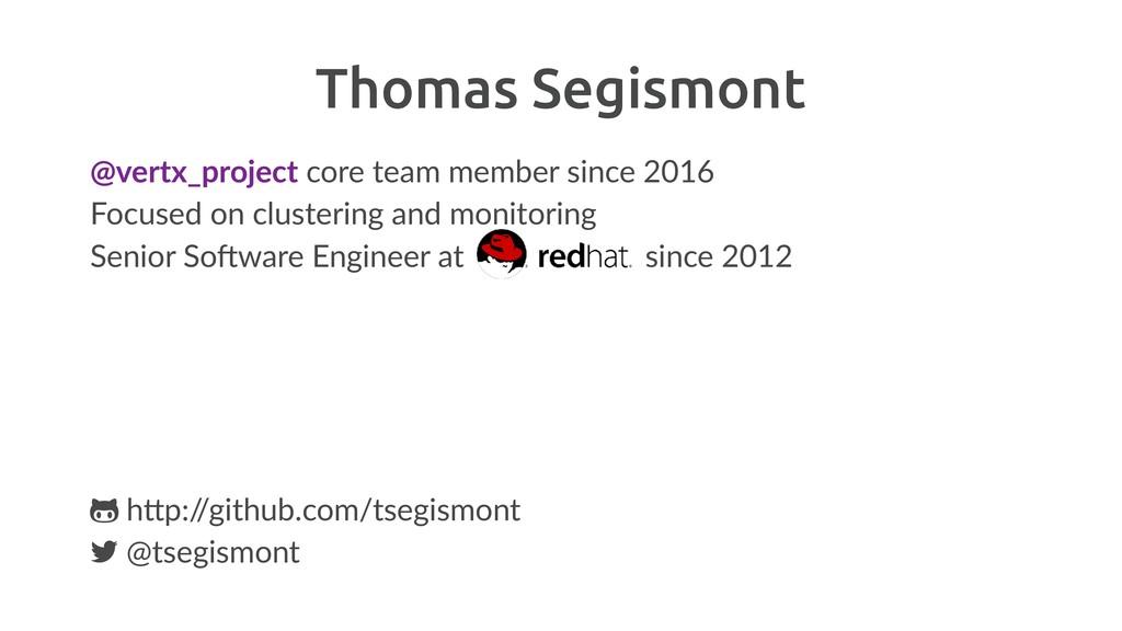 Thomas Segismont @vertx_project core team membe...