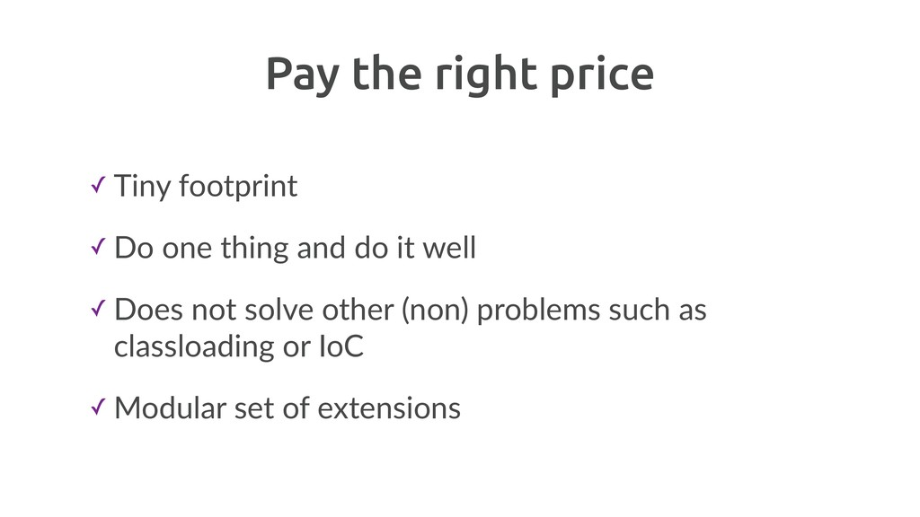 Pay the right price ✓ Tiny footprint ✓ Do one t...