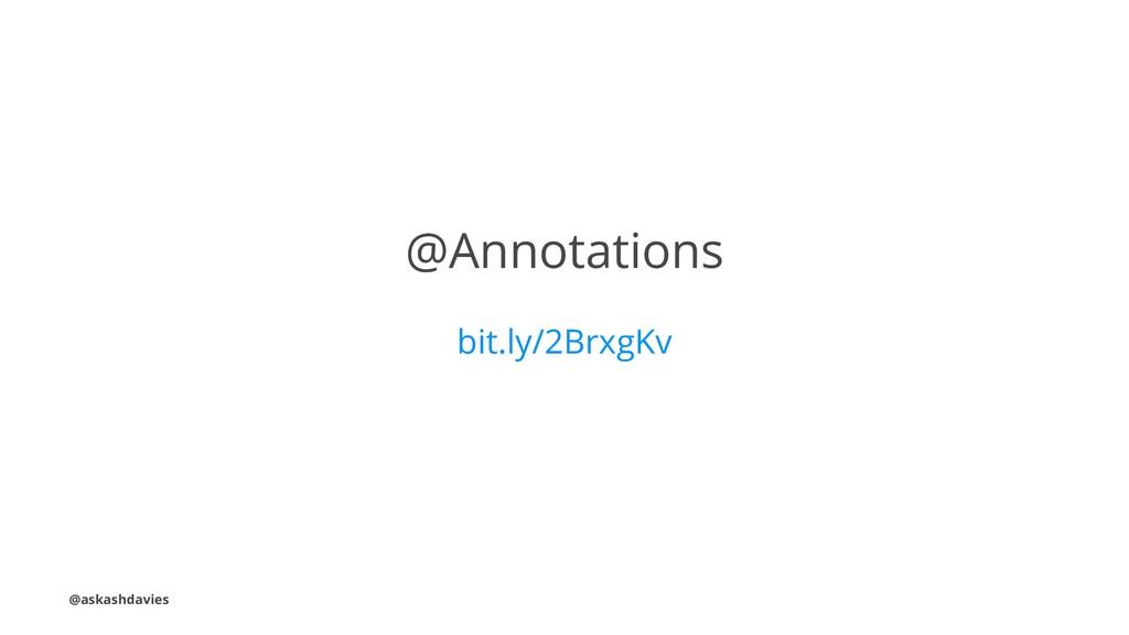 @Annotations bit.ly/2BrxgKv @askashdavies