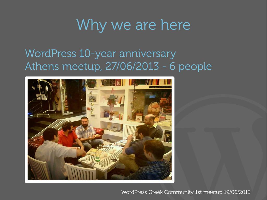 WordPress Greek Community 1st meetup 19/06/2013...