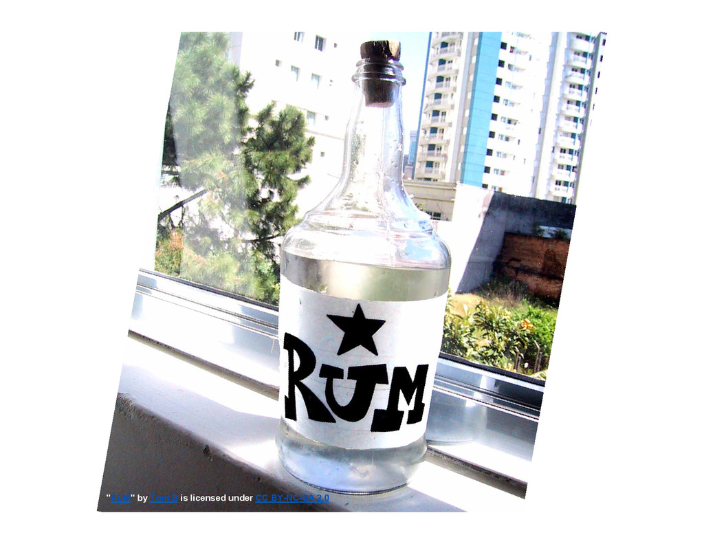 """RUM"" by Tom B is licensed under CC BY-NC-SA 2.0"