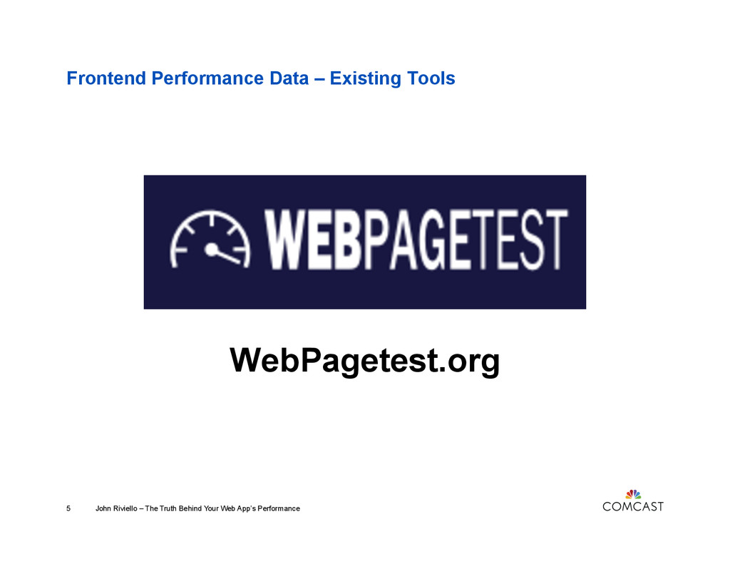 Frontend Performance Data – Existing Tools WebP...