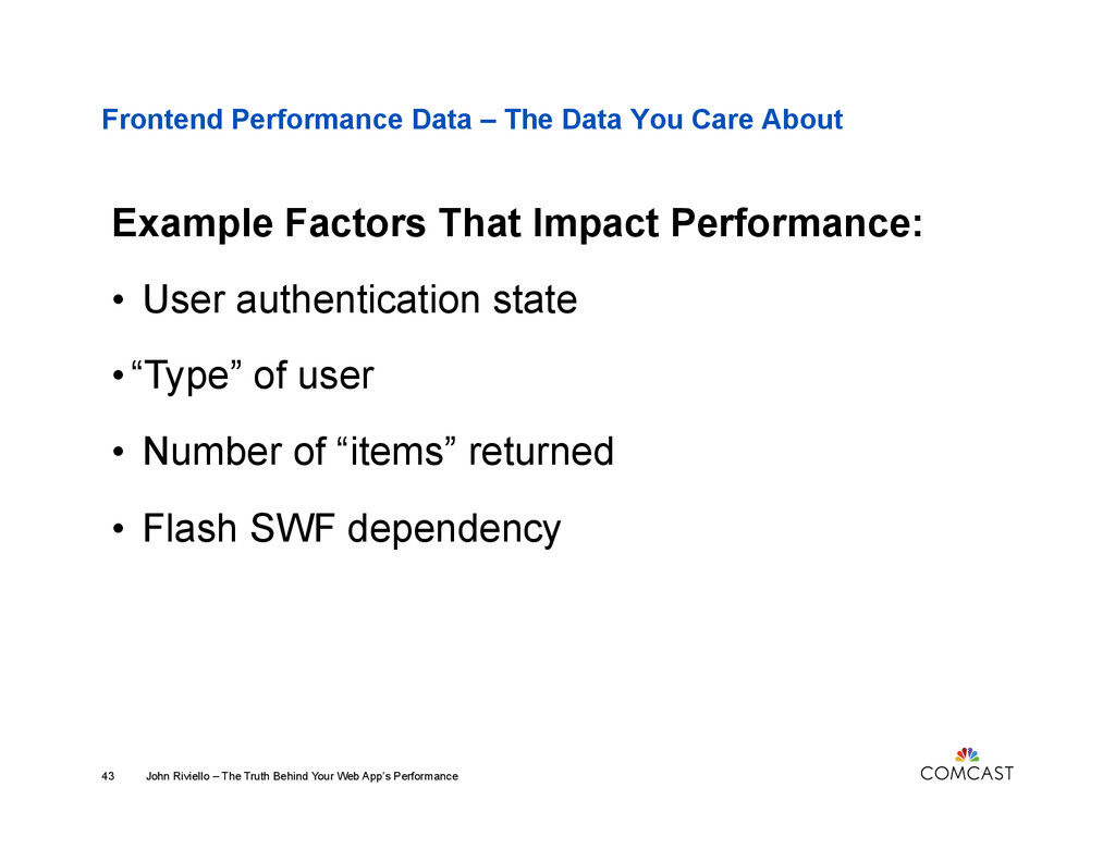 Frontend Performance Data – The Data You Care A...