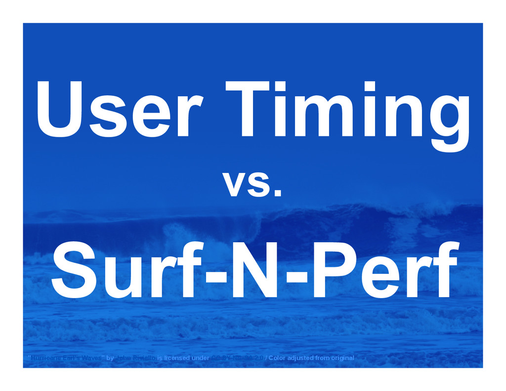 "User Timing vs. Surf-N-Perf ""Hurricane Earl's W..."