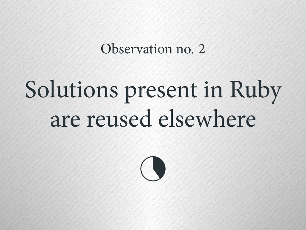 Observation no. 2 Solutions present in Ruby are...