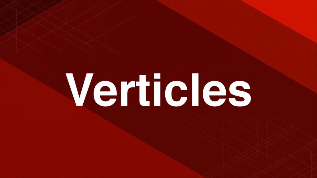 Verticles