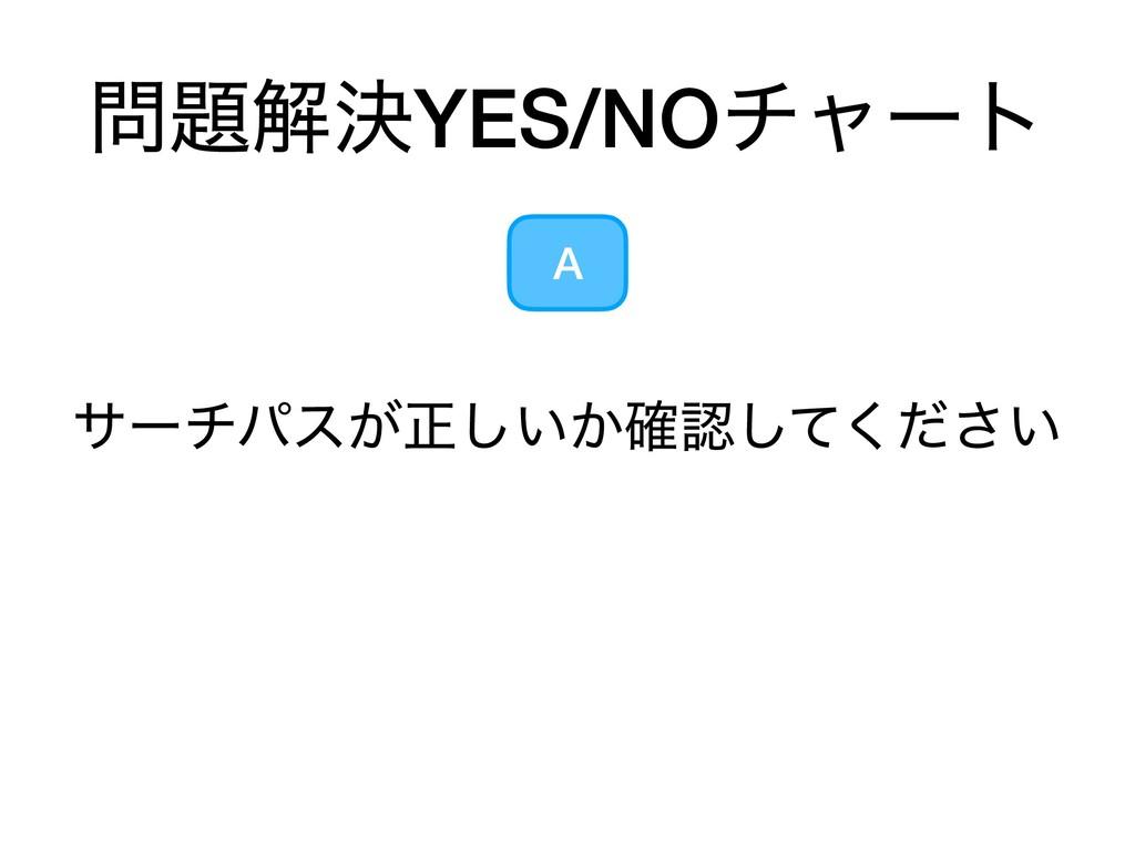 ղܾYES/NOνϟʔτ A αʔνύε͕ਖ਼͍͔͍֬ͯͩ͘͠͠͞
