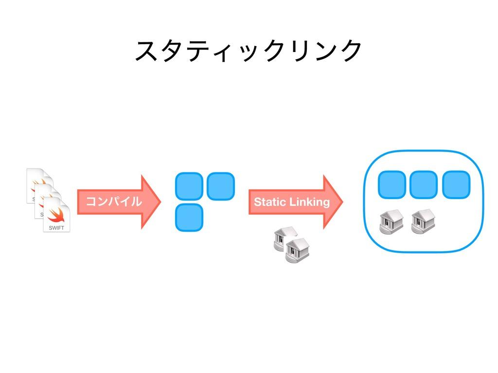 ελςΟοΫϦϯΫ ίϯύΠϧ Static Linking