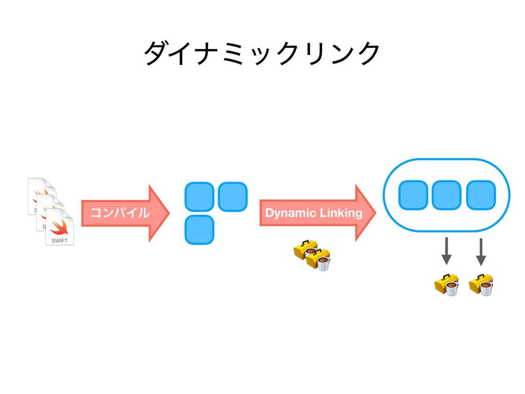 μΠφϛοΫϦϯΫ ίϯύΠϧ Dynamic Linking