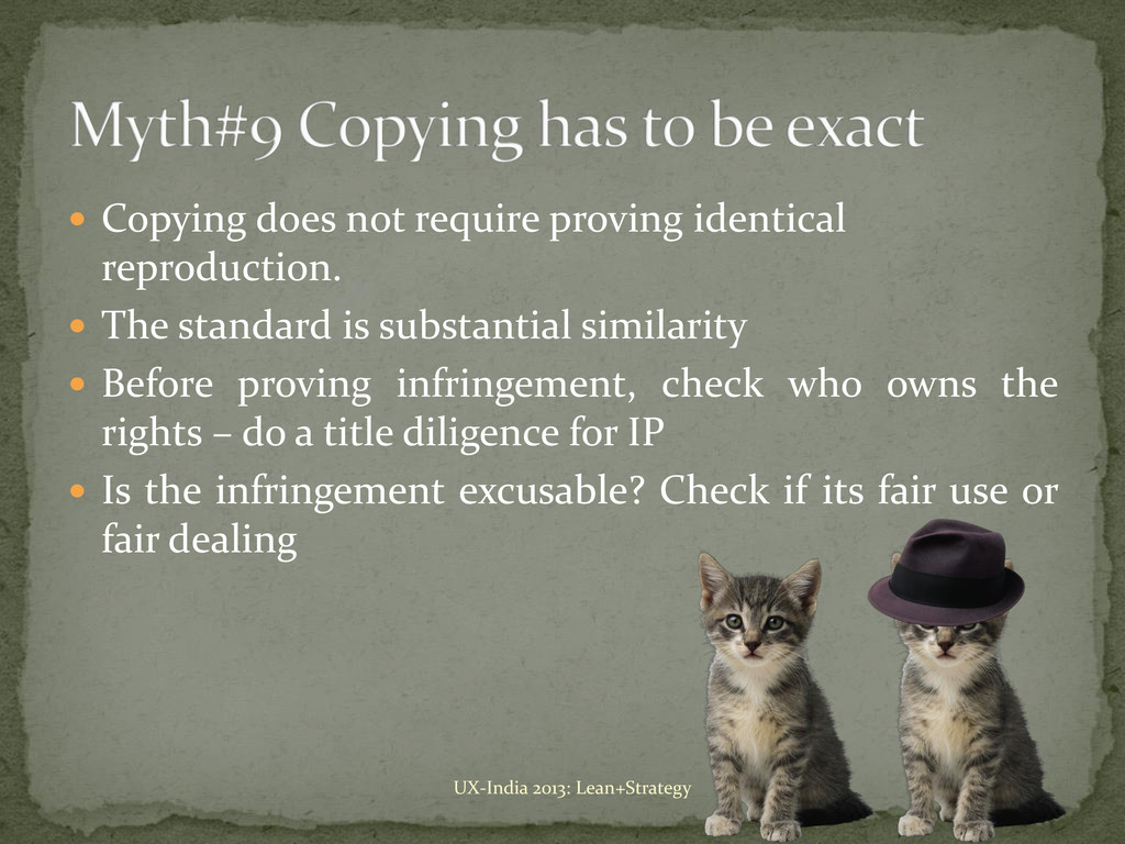  Copying does not require proving identical re...