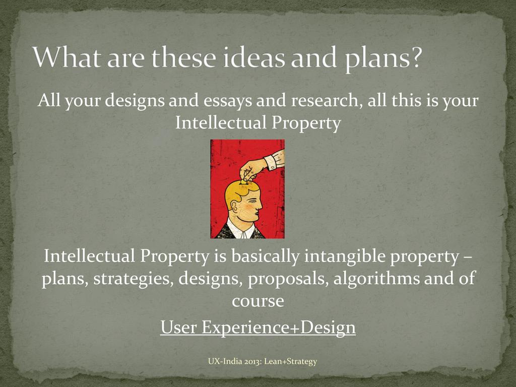 All your designs and essays and research, all t...
