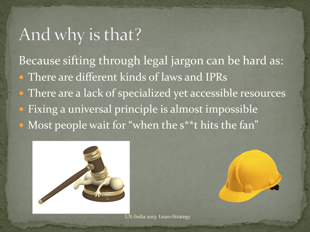 Because sifting through legal jargon can be har...